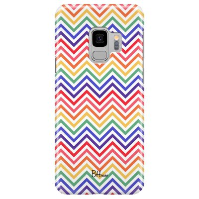 Rainbow Geometric Coque Samsung S9
