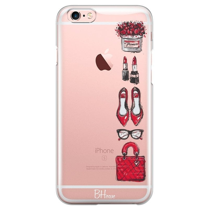 Red Fashion Coque iPhone 6 Plus/6S Plus