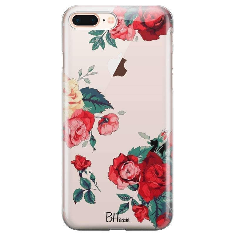 Roses Coque iPhone 7 Plus/8 Plus