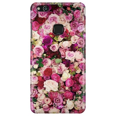 Roses Pink Coque Huawei P10 Lite