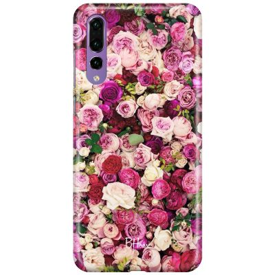 Roses Pink Coque Huawei P20 Pro