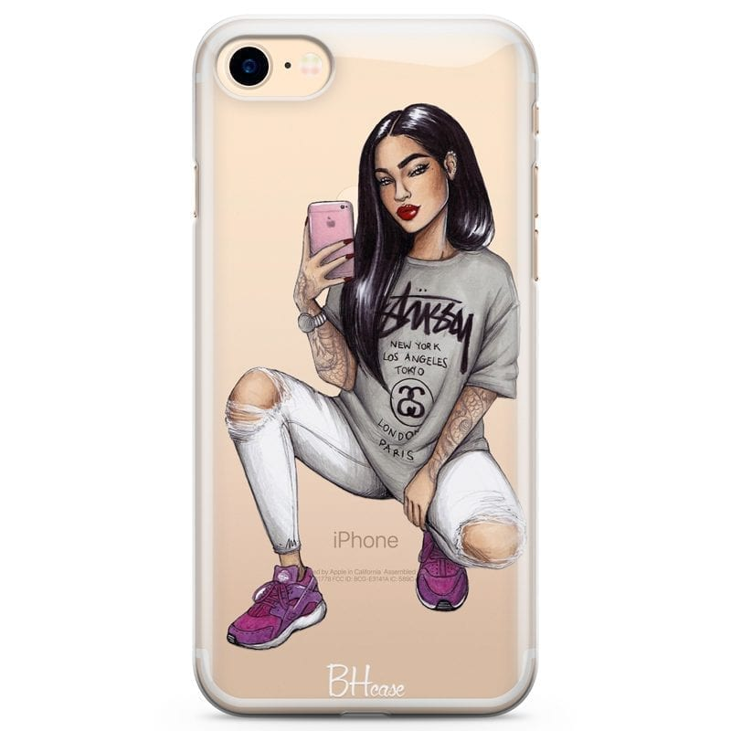 Stussy Girl Coque iPhone 8/7/SE 2 2020