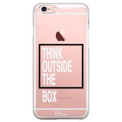 Think Outside The Box Coque iPhone 6/6S