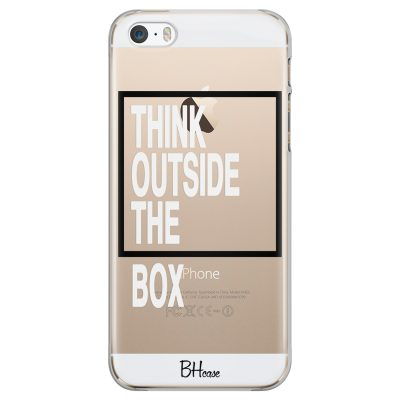 Think Outside The Box Coque iPhone SE/5S