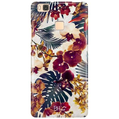 Tropical Floral Coque Huawei P9 Lite