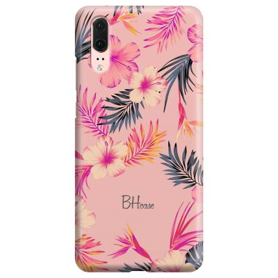 Tropical Pink Coque Huawei P20