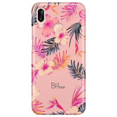 Tropical Pink Coque Huawei P20 Lite