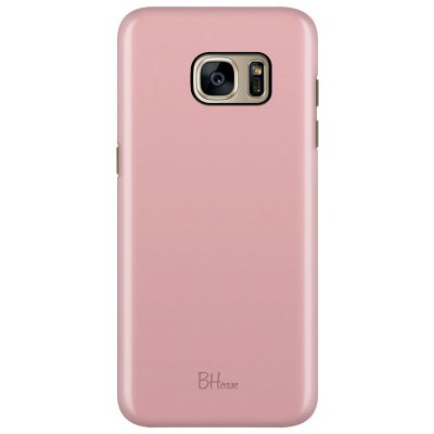 Charm Pink Color Coque Samsung S7 Edge