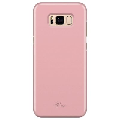 Charm Pink Color Coque Samsung S8