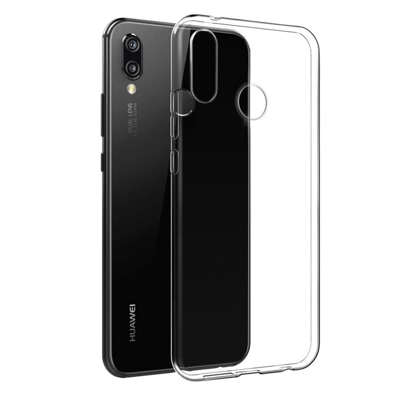 Clear Transparent Coque Huawei P20 Lite