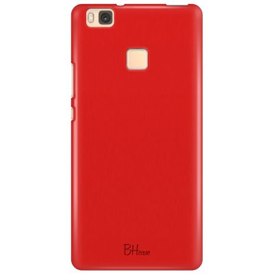 Red Apple Color Coque Huawei P9 Lite