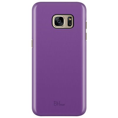 Violet Color Coque Samsung S7 Edge