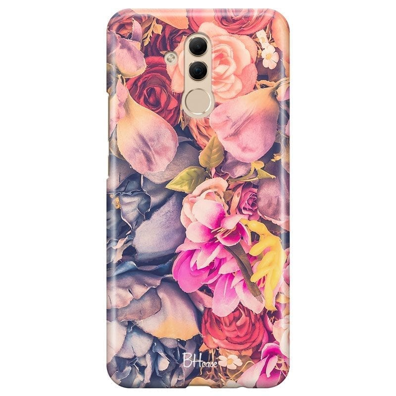 Colorful Flowers Coque Huawei Mate 20 Lite