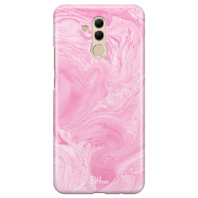Marble Pink Coque Huawei Mate 20 Lite