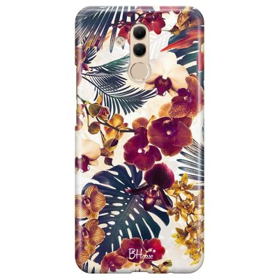 Tropical Floral Coque Huawei Mate 20 Lite