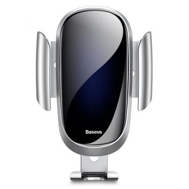 Baseus Future Gravity Car Mount Holder Silver