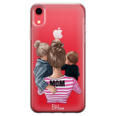 Mom Of Boy And Girl Coque iPhone XR