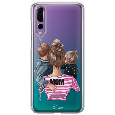 Mom Of Girl And Boy Coque Huawei P20 Pro