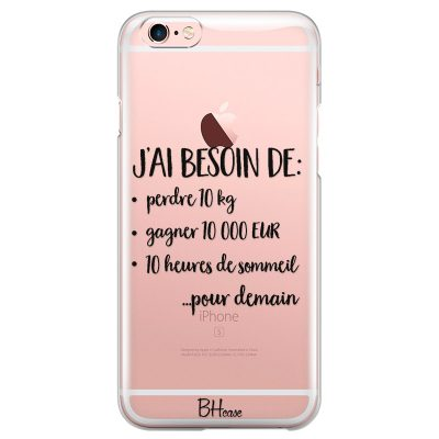 J'ai Besoin De Coque iPhone 6 Plus/6S Plus