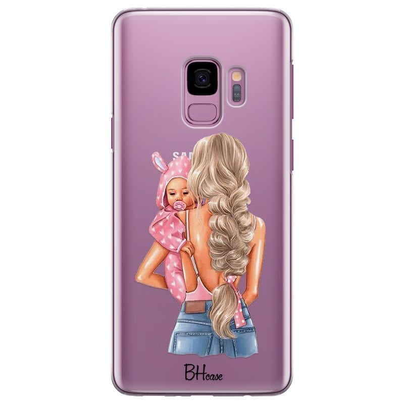 Mother Blonde With Girl Coque Samsung S9