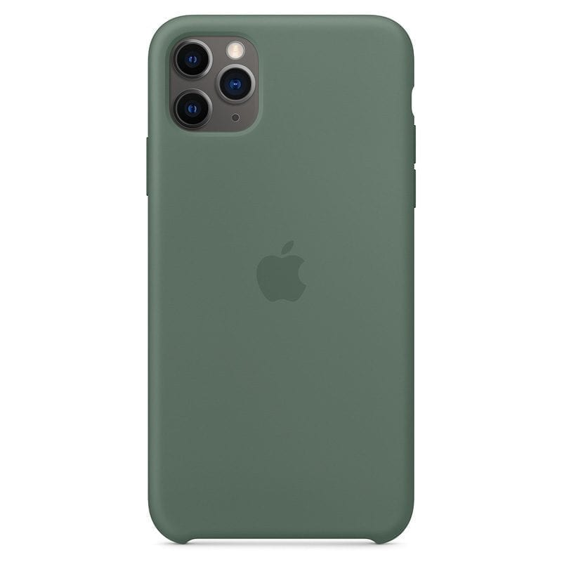 Apple Pine Green Silicone Coque iPhone 11 Pro