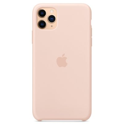 Apple Pink Sand Silicone Coque iPhone 11 Pro