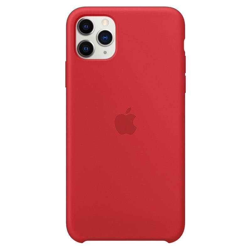 Apple Product Red Silicone Coque iPhone 11 Pro Max