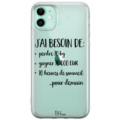 J'ai Besoin De Coque iPhone 11