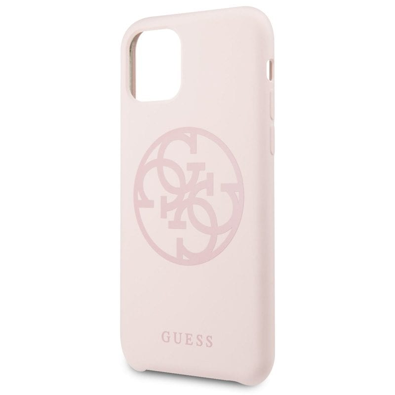 Guess 4G Tone Light Pink Coque iPhone 11