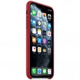 Apple Product Red Leather Coque iPhone 11 Pro