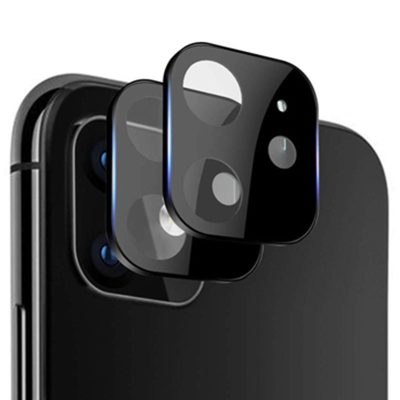 Camera Lens Protector Black iPhone 11