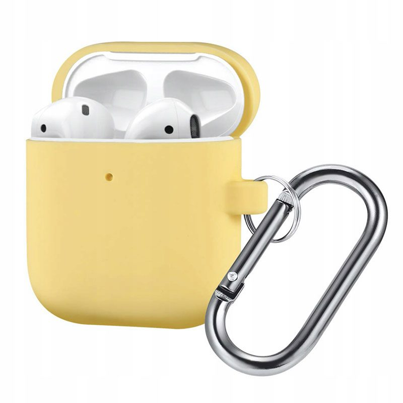 Silicone Protective Coque For Airpods Yellow