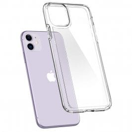 Spigen Crystal Hybrid Crystal Clear Coque iPhone 11