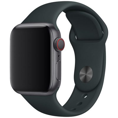 Silicone Bracelet Apple Watch 42/44mm Dark Gray Large