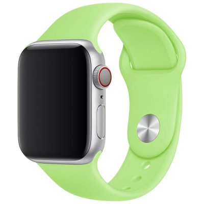Silicone Bracelet Apple Watch 42/44mm Green Large