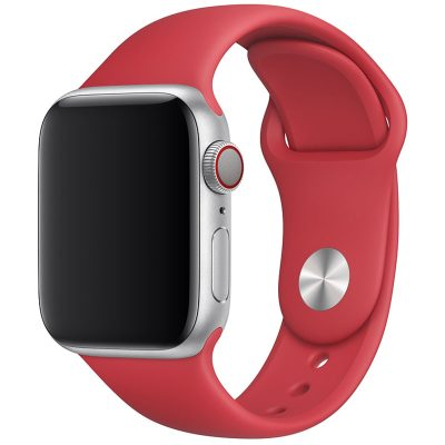 Silicone Bracelet Apple Watch 42/44mm Red Large