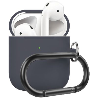Silicone Protective Coque For Airpods Gray