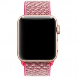 Nylon Bracelet Apple Watch 42/44mm Brilliant Pink