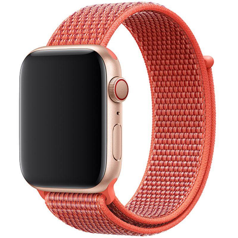 Nylon Bracelet Apple Watch 42/44mm Nectarine