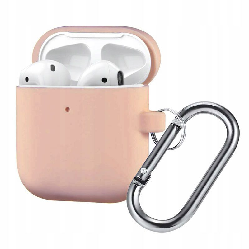 Silicone Protective Coque For Airpods Pink Sand