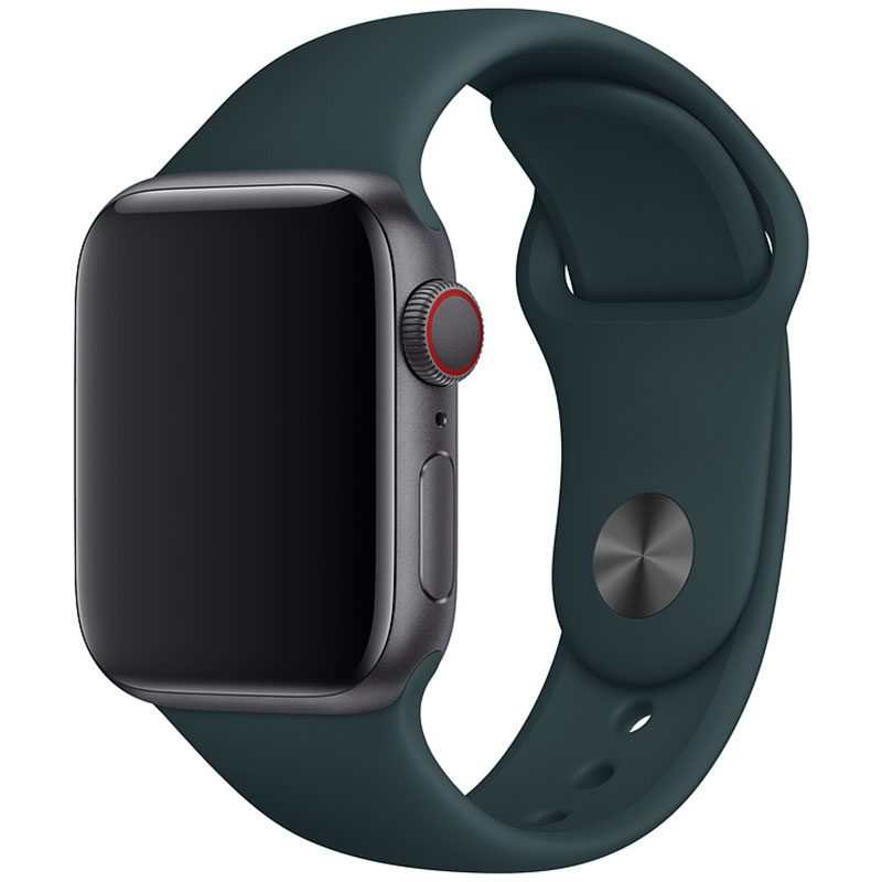 Silicone Bracelet Apple Watch 41/40/38mm Olive Small