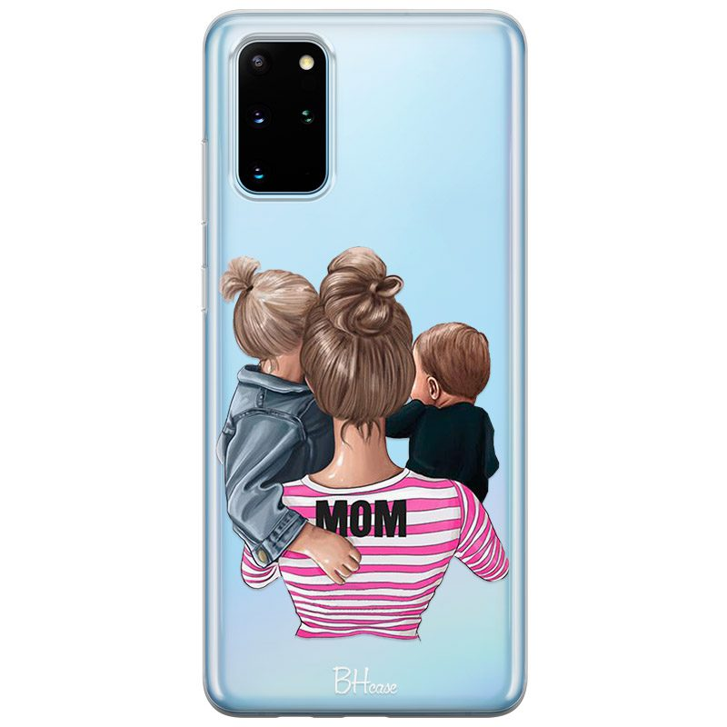 Mom Of Boy And Girl Coque Samsung S20 Plus