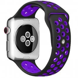 Sport Bracelet Apple Watch 38/40mm Black/Hyper Grape Large