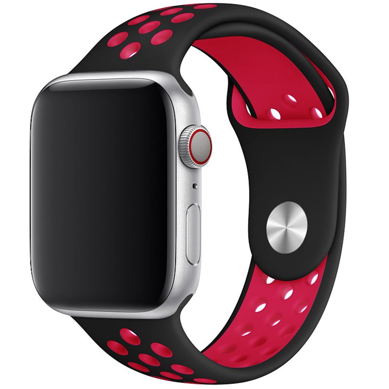 Sport Bracelet Apple Watch 42/44mm Black/Red Large