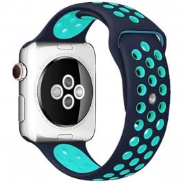 Sport Bracelet Apple Watch 38/40mm Blue/Duck Green Small