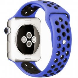 Sport Bracelet Apple Watch 38/40mm Royal/Black Small
