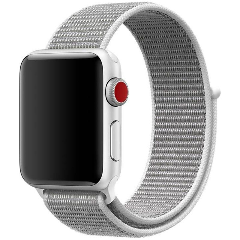 Nylon Bracelet Apple Watch 38/40mm Pearl