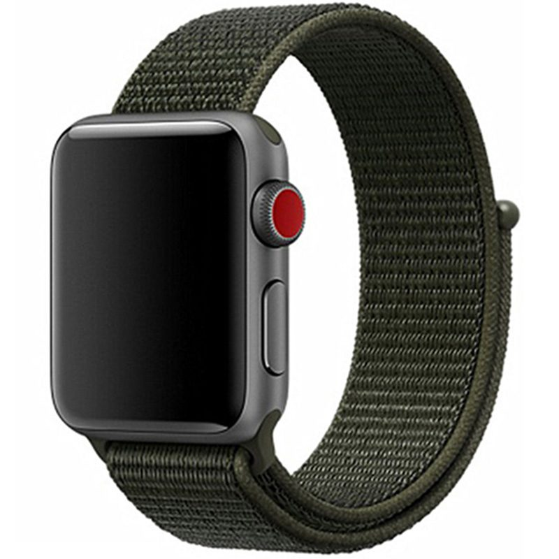 Nylon Bracelet Apple Watch 42/44mm Cargo Khaki