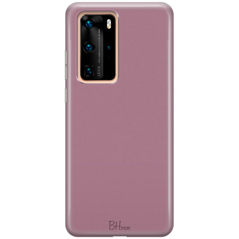 Candy Pink Color Coque Huawei P40 Pro