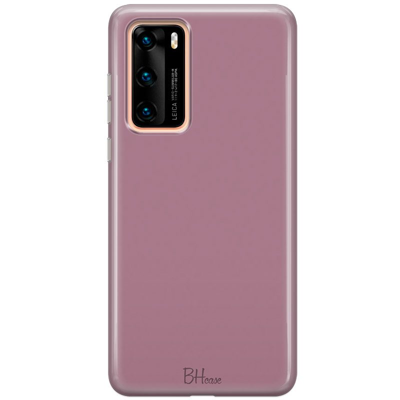 Candy Pink Color Coque Huawei P40